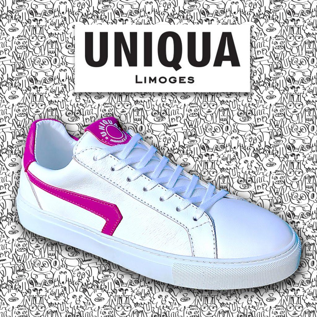 UNIQUA Limoges : Basket ORSAY Blanc Fuchsia