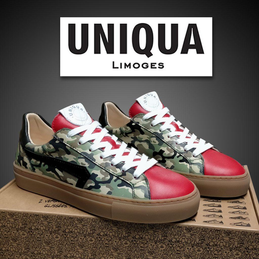 UNIQUA Limoges - Basket Orsay Camouflage Rouge